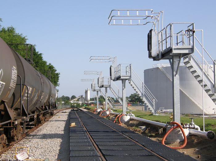 8 Best Railcar Loading Platforms Images On Pinterest Platforms