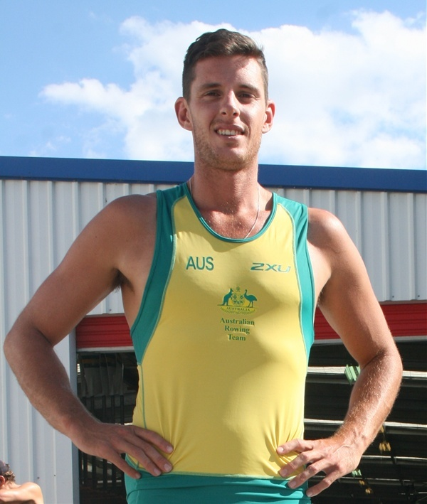 Fergus Pragnell. CGS old boy and  AIS Rower in Olympic squad