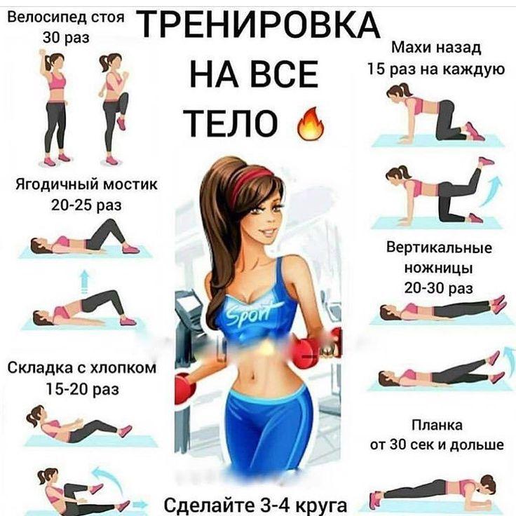 Упражнения дома быстро похудеть