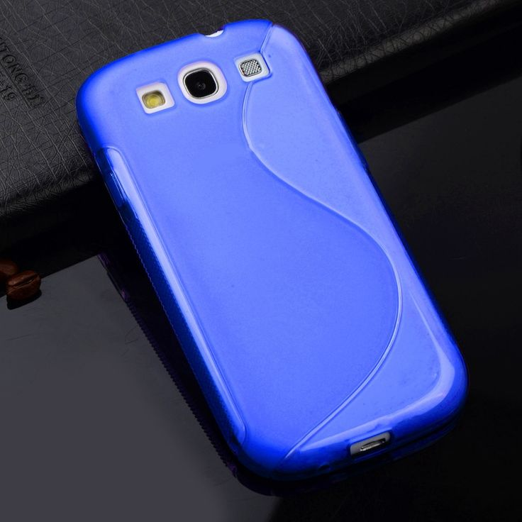 S3 S LINE Anti Skiding Gel TPU Slim Soft Case Back Cover for Samsung Galaxy S3 SIII I9300 S 3 Mobile Phone Rubber silicone Bags