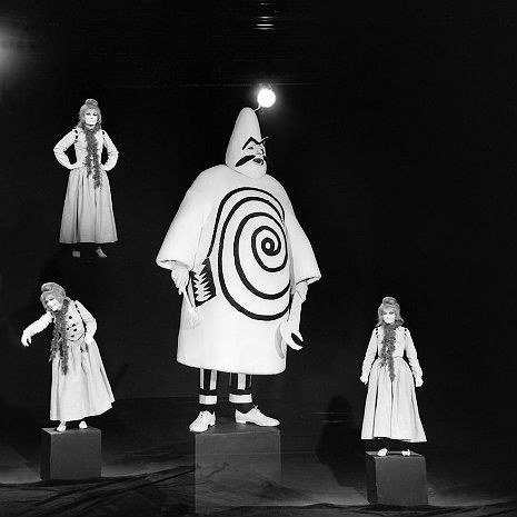 The original Theatre of the Absurd: 'Ubu Roi,' a lot like 'The Forbidden Zone,' only it's weirder!