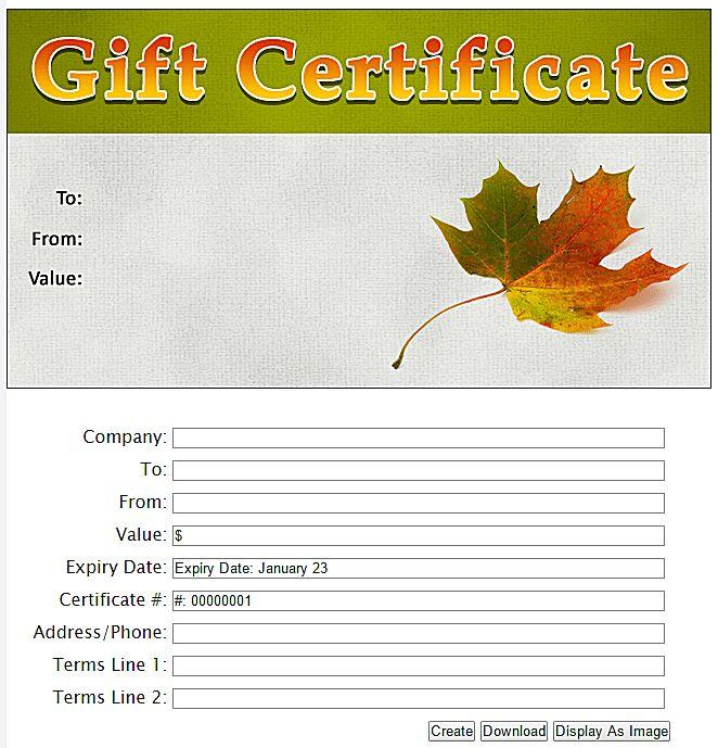 Best 25+ Free gift certificate template ideas on Pinterest ...
