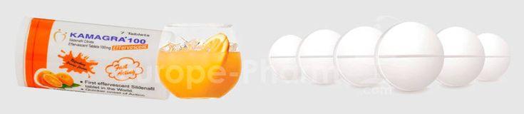 #Kamagra Brausetabletten mit dem Wirkstoff #Sildenafil 100 mg. 4 - 6 Stunden Wirkzeit. Der Orangengeschmack macht die Einnahme des Potenzmittels zu einem seltenen Genuss.