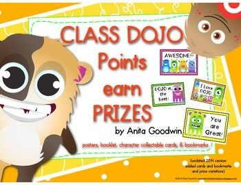 Are you using the app Class Dojo for incentives? Then you will want to download this packet.