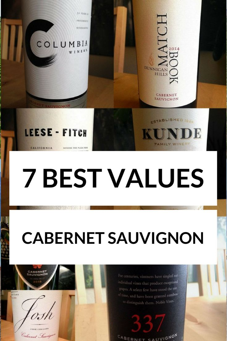 Best value Cabernet Sauvignon wines