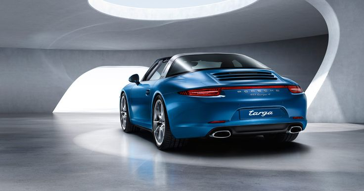 By Design. The new 911 Targa 4 models.