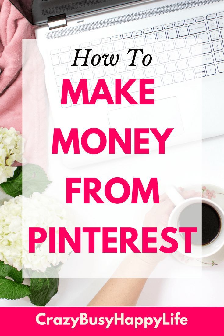 Learn how to make money from your blog using Pinterest and tailwind. #blogging #makemoneyonline #makemoneyblogging #makemoneyfromhome #workathome