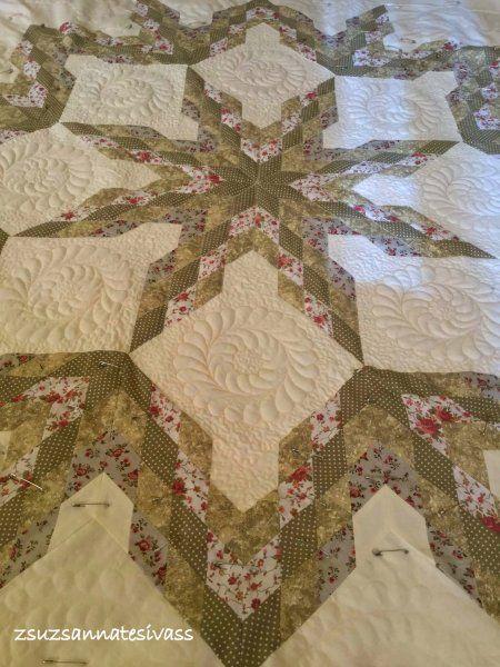 tűvarázslat patchwork takaró
