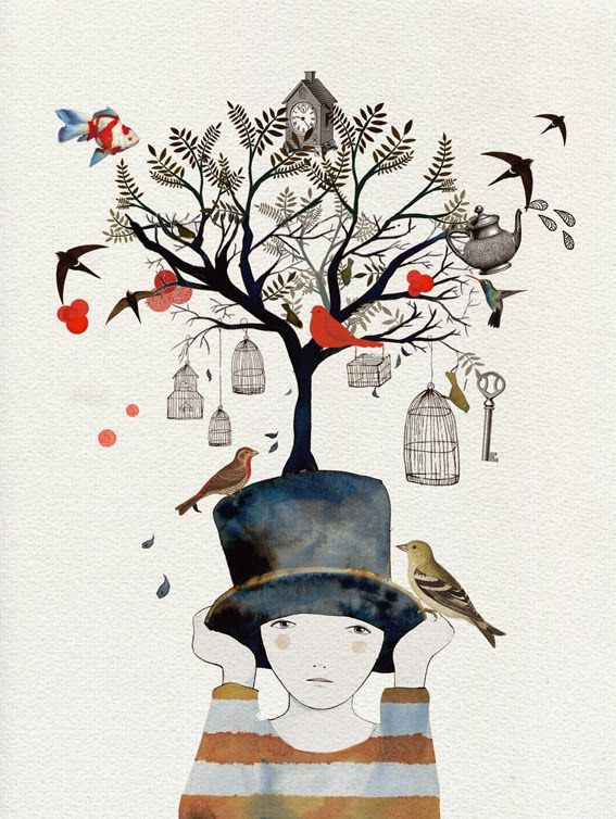 LAUsNOTEbook: Lady Desidia - Illustration