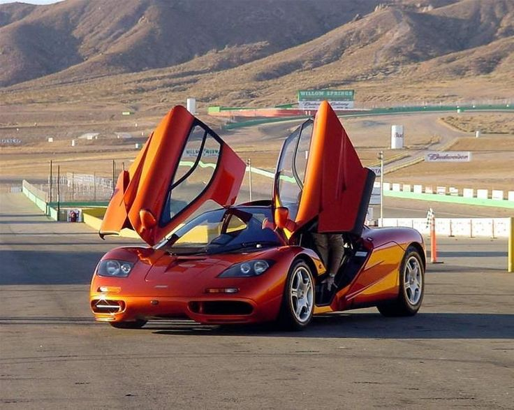 Can't have a car board without the McLaren F1!