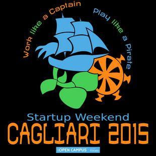 Ho inserito nel logo la nave pirata e il timone, rispettivamente simboli del pirata e del capitano; accompagnati dal germoglio verde a rappresentare la nascita di una nuova impresa e riprendere quindi l'idea di startup.
