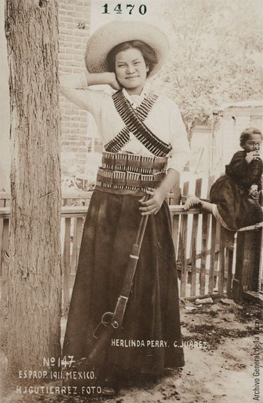 """""""Women of the Mexican Revolution""""....@...http://www.lapl.org/events/nation_emerges/"""