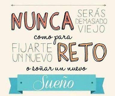 Español frases vida reto amor @Luna Garcia