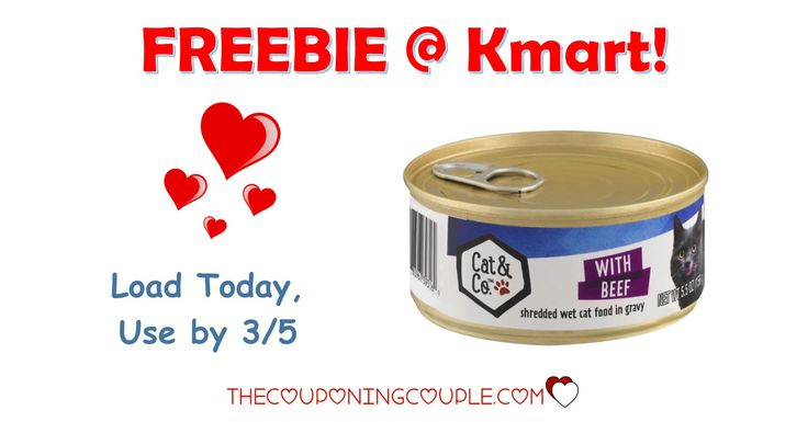 It's the KMART FRIDAY FIX! Get an ecoupon for a FREE Cat & Co Wet Cat Food! Get the ecoupon now!  Click the link below to get all of the details ► http://www.thecouponingcouple.com/kmart-friday-fix/ #Coupons #Couponing #CouponCommunity  Visit us at http://www.thecouponingcouple.com for more great posts!