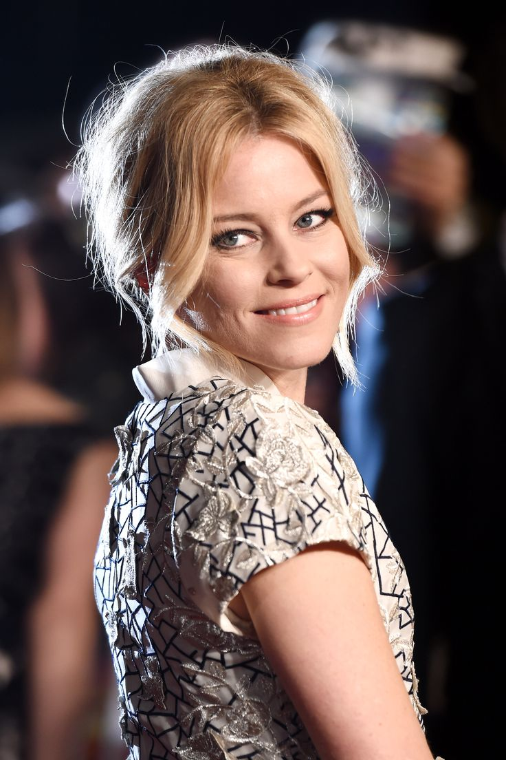 Elizabeth Banks attends The Hunger Games: Mockingjay Part 2 - UK Premiere at Odeon Leicester Square on November 5, 2015 in London, England.