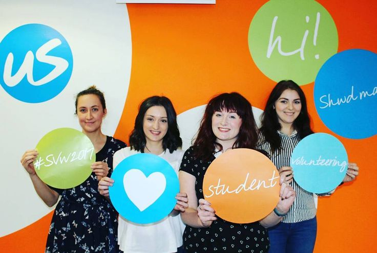It's Student Volunteering Week! We want to say a big thanks to all of the fantastic students who give up their time to help us make a difference while boosting their CV gaining new skills and hopefully having fun!   Head to our facebook page this week to hear stories from our students about how volunteering has made a difference for them :) - #SVW2017 #studentvolunteering #volunteering #volunteers #charity #cancer #support #tenovus #wales