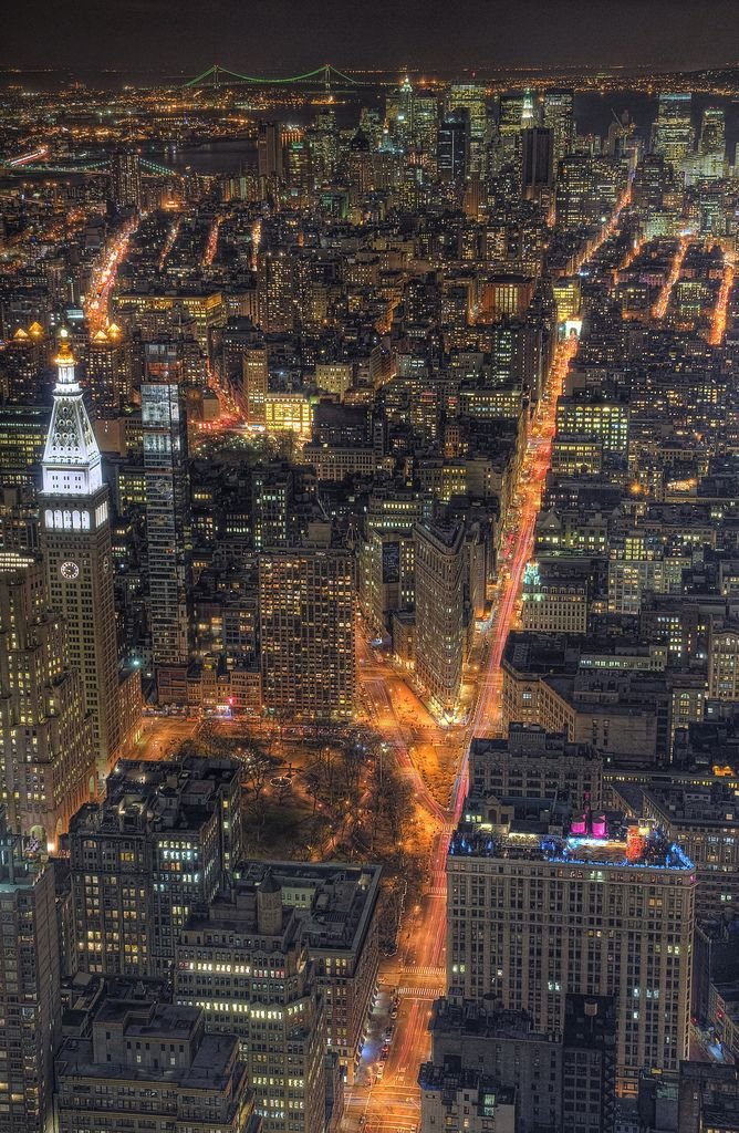 Night view, NYC