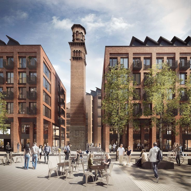 Jestico + Whiles Wins Approval for Tower Works Redevelopment in Leeds
