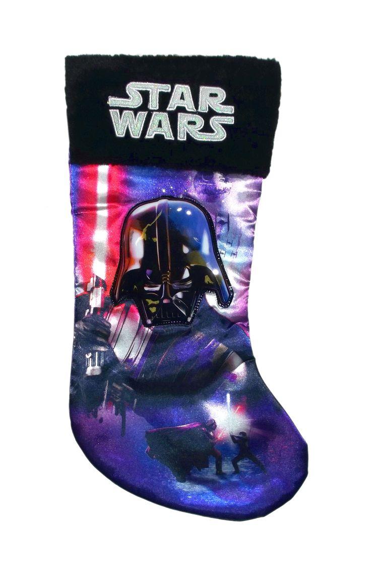 19inch Star Wars Darth Vader Applique Stocking