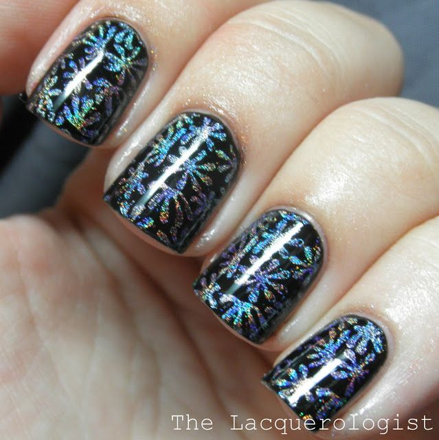The Lacquerologist: Nail Art Featuring Konad m94 from Nail Polish Canada!