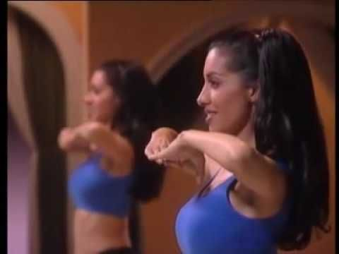 Easy workout based on belly dance moves... it's great for those moments when you feel tired but still want to exercise :)