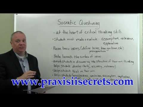 Praxis II Study Guide Reading Specialist Socratic Questioning