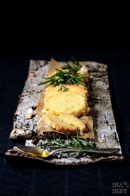 Ina Is(s)t: Rosmarinkekse mit Olivenöl und Orange - Rosemary cookies with olive oil and orange
