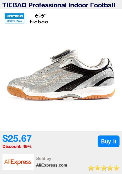 TIEBAO Professional Indoor Football Boots PVC leather Athletic Training Soccer Shoes Men Women IN & IC Sole Shoe chuteira futsal * Pub Date: 20:51 Jun 26 2017