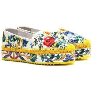 Dolce & Gabbana Клин Ткань Espadrilles