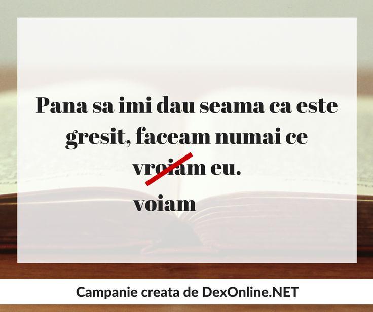 Dexonline promoveaza limba romana vorbita corect #salveazalimbaromana #gramatica  http://dexonline.net