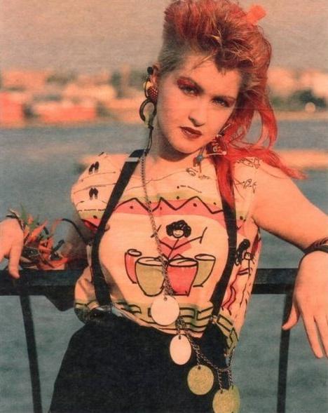Cyndi Lauper | 1980's/Early 90's Dresses/Fashion ...