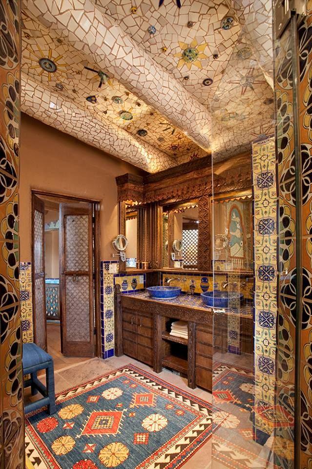 łazienka W Stylu Meksykańskim Interiordesign Homedecor