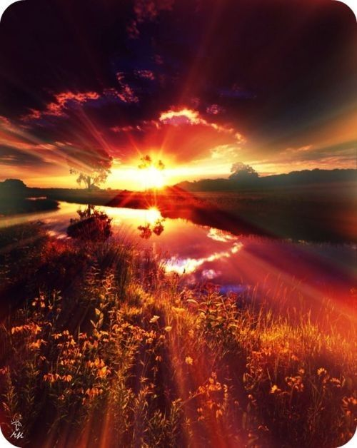 Amazing Sunset | Sunrise....Sunset | Pinterest