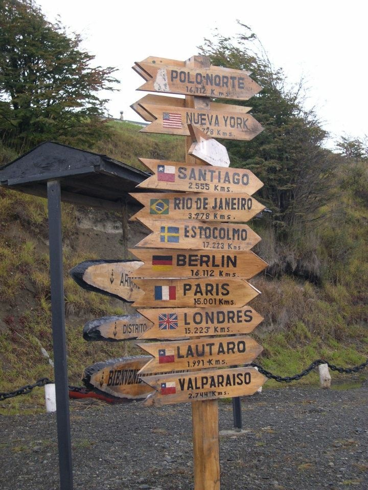 Puerto Williams is a Chilean port, located on Isla Navarino facing the Beagle Channel.