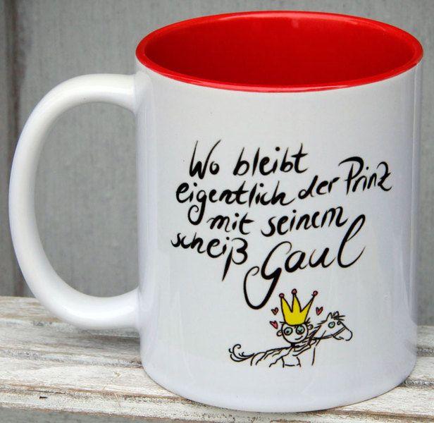 Becher & Tassen - lustige Tasse, Sprüchetassen, Spruch-Tassen - ein Designerstück von Tassen-Geschenke-by-MySweetheart bei DaWanda