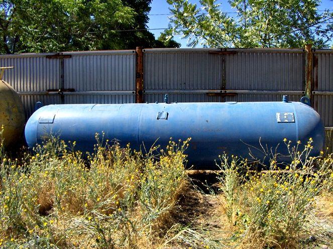 Estanque Acero Carbono 4.000 Litros Aprox / Diámetro 1.000mm / Usado – ChileRemates.cl