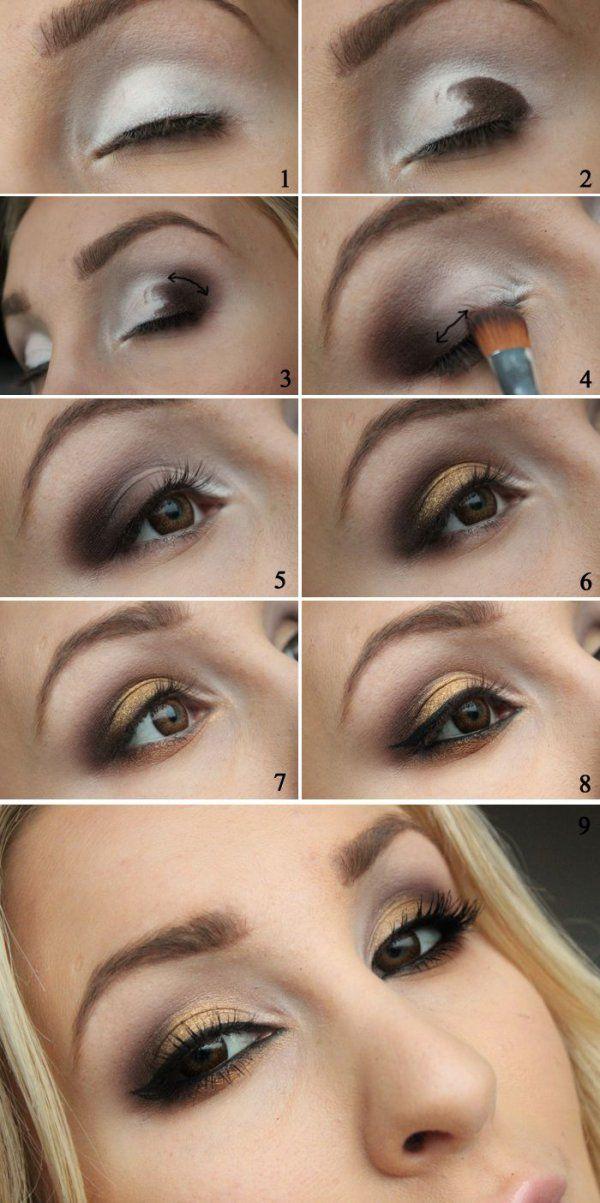Rozcieraj i blenduj! Piękny makijaż oka krok po kroku!