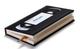VHS notebook: Vhsnotebook, Idea, Gift, Vhs Tape, Vhs Notebooks, Note Books, Videos Tape, Design, Videos Notebooks