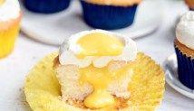 'Sunny Side Up' Stuffed Mango Cupcakes
