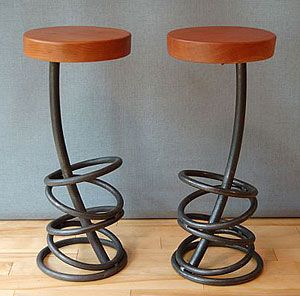 these bar stools will make you feel tipsy just looking at them- Fabulous!