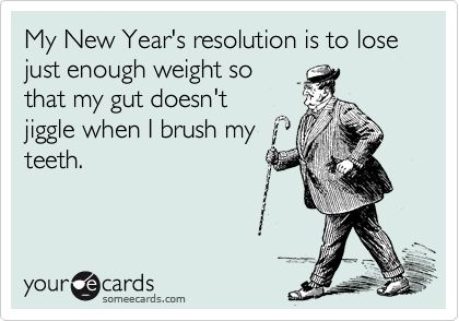 Here's to a thinner 2013