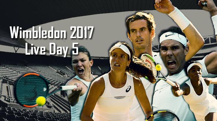 Wimbledon 2017 Live, Day 5: Top seeds Andy Murray, Rafael Nadal, Simona Halep, Venus Williams in action http://indianews23.com/blog/wimbledon-2017-live-day-5-top-seeds-andy-murray-rafael-nadal-simona-halep-venus-williams-in-action/