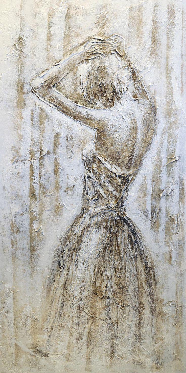 Figuratieve Schilderijen | Figuratief Schilderij 70cmx140cm (45011CR9602)