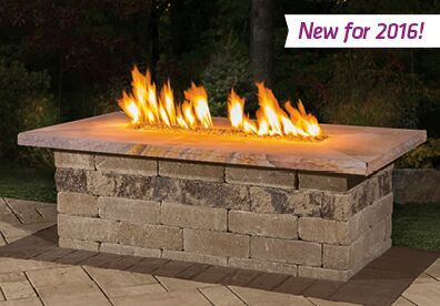"Cambridge Eternal Flame""Chill-out"" with one of the ""hottest"" trends in backyard amenities with this long, linear, gas-burning insert that is reminiscent of those found at a favorite restaurant, lounge or lodge setting."