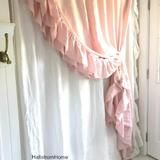 Triple Side Ruffle Shower Curtain