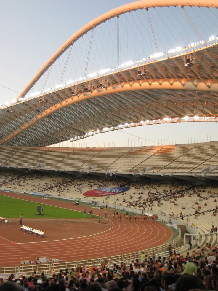 The Olympic Stadium - Athens