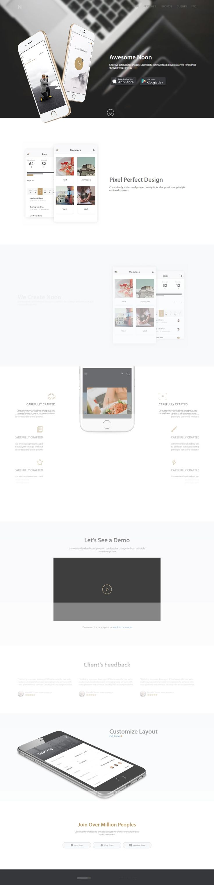 We have created Free Html UI Kit app Website.You can download the HTML for your app landing website !       #Free #html #website #template #landing #responsive #css #css3 #html5 #app #mobile