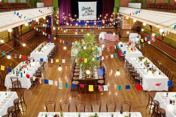 Fitzroy town hall wedding Venue Ed Dixon Food Design Catering Melbourne Venues Wedding Venues Christmas Parties