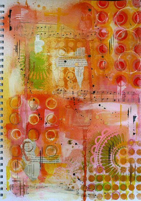 Art Journal by thekathrynwheel, via Flickr