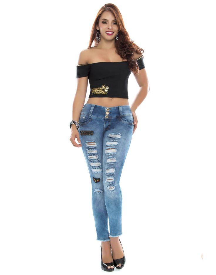 Jean Pitbull PT-6102 Tenemos novedades en jeans pitbull.  Todos los modelos disponibles en: https://jeanspitbull.com/catalogo-de-jeans-colombianos  #pantalones #levantacola #jeans #pushup #modalatina #modamujer #novedades #nuevacolección  #ventasonline #modacolombia #modamedellin #fashion #cool